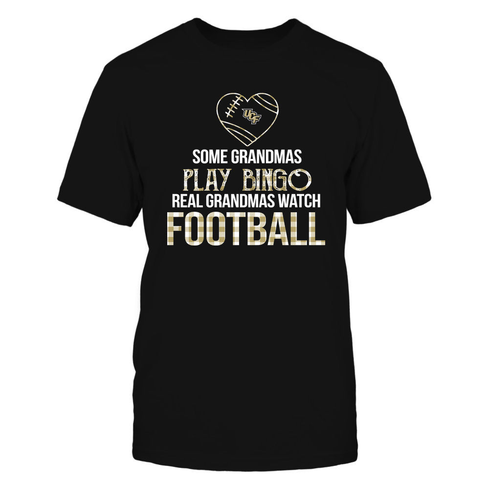 UCF Knights - Real Grandmas Watch Football - Bingo Front picture