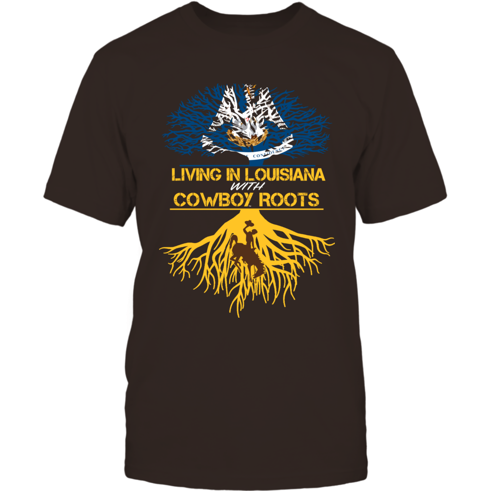 Wyoming Cowboys - Living Roots Louisiana Front picture