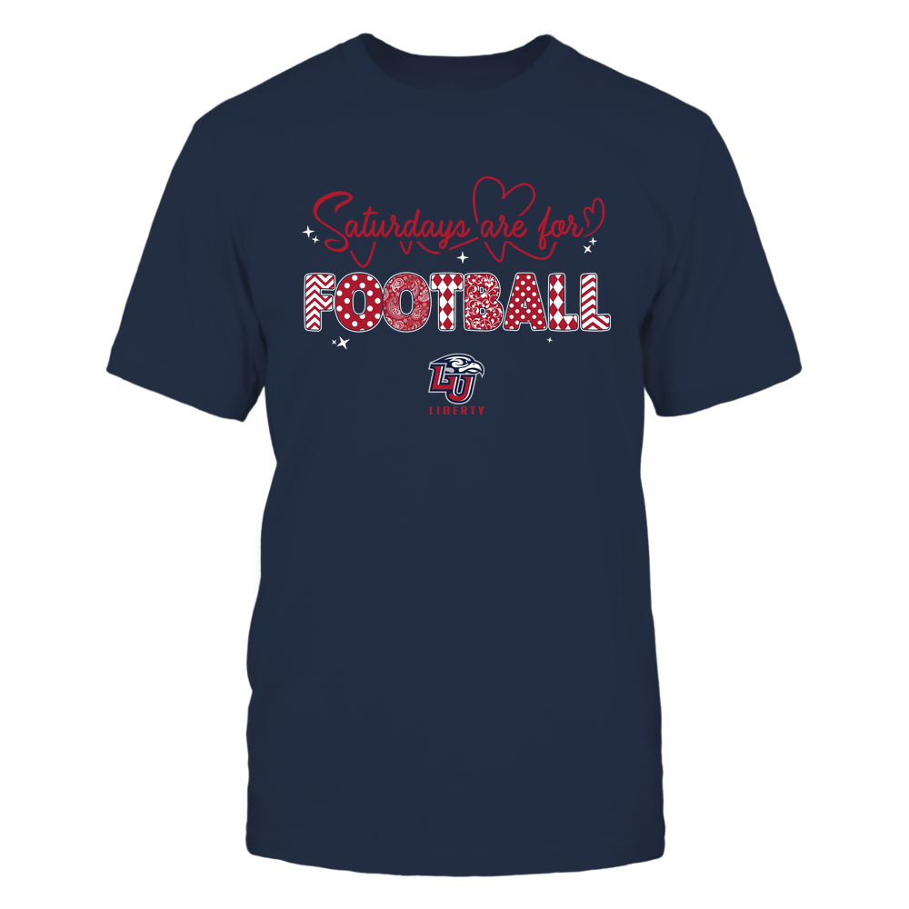 Liberty Flames - Saturdays Are For Football - Team Front picture