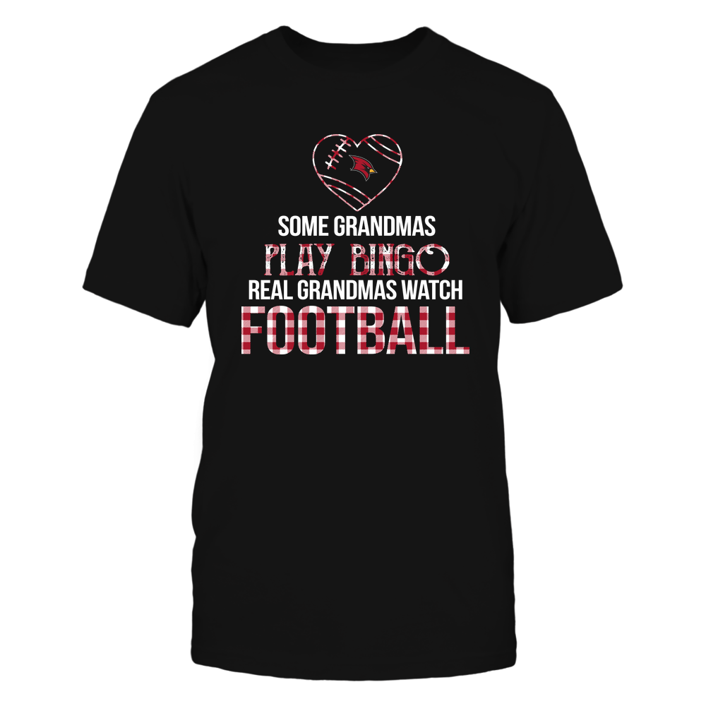 Saginaw Valley State Cardinals - Real Grandmas Watch Football - Bingo Front picture