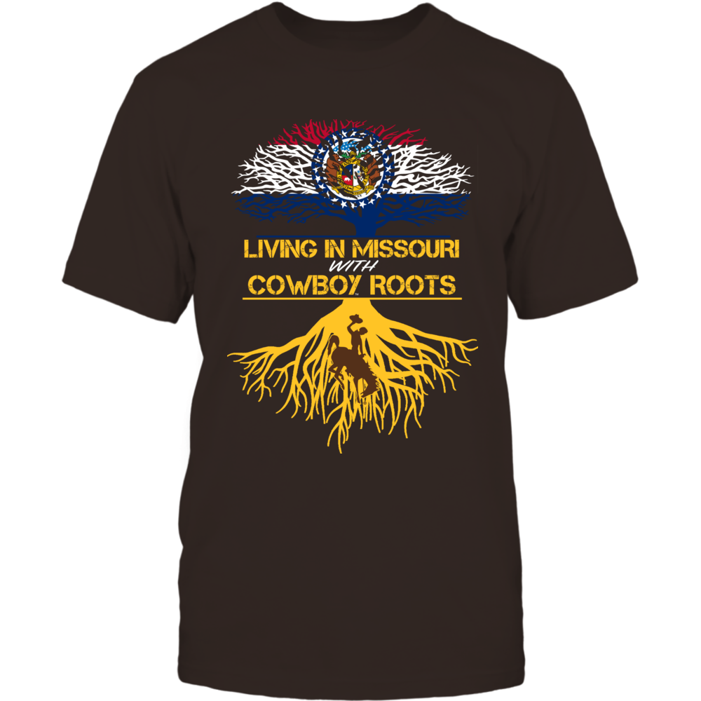 Wyoming Cowboys - Living Roots Missouri Front picture