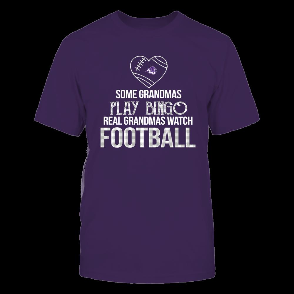 Abilene Christian Wildcats - Real Grandmas Watch Football - Bingo Front picture