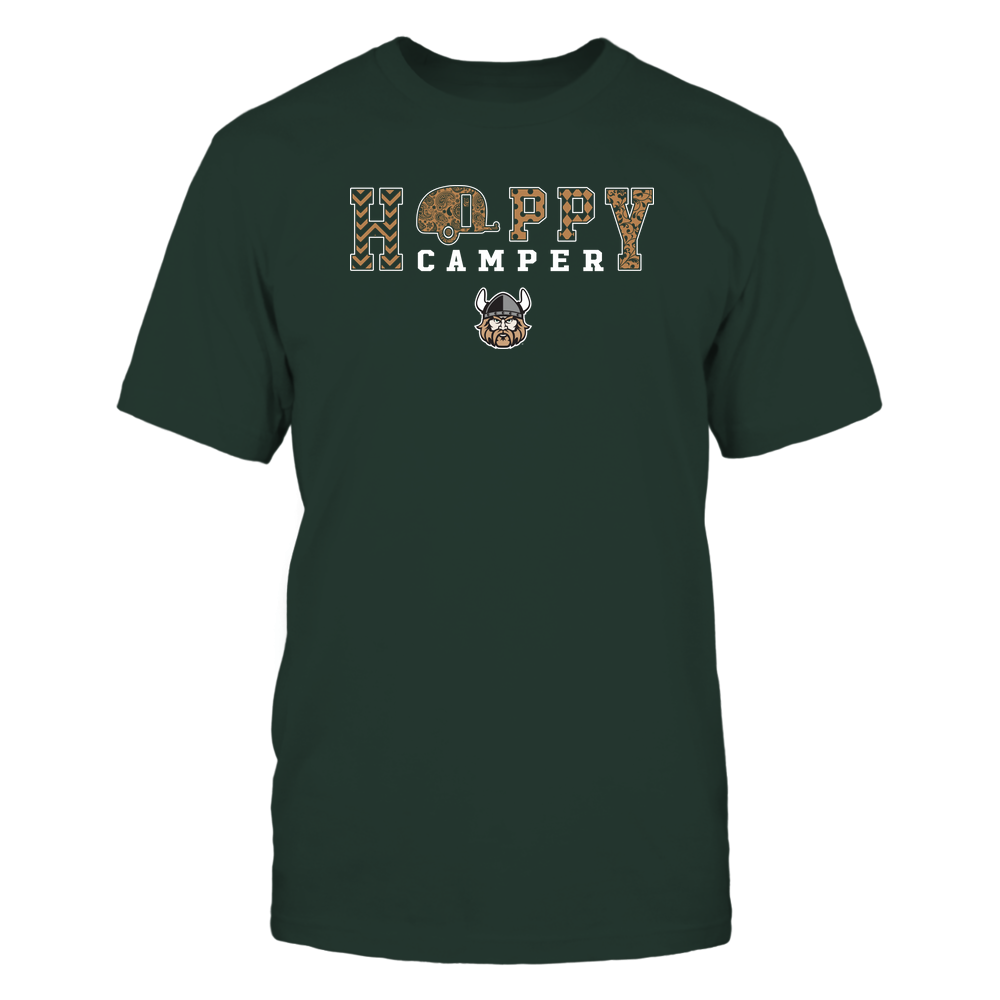 Cleveland State Vikings - Camping - Happy Camper Patterned Front picture