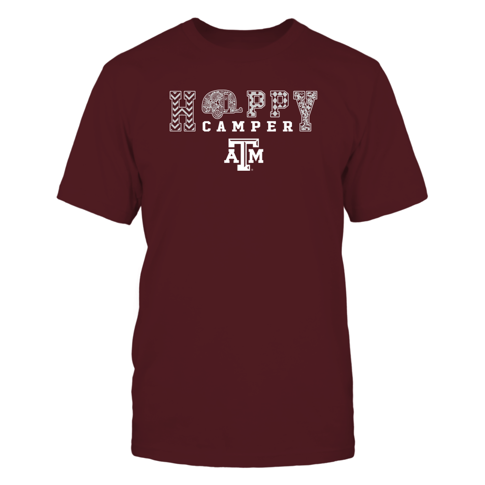 Texas A&M Aggies - Camping - Happy Camper Patterned - IF-IC13-DS37 Front picture