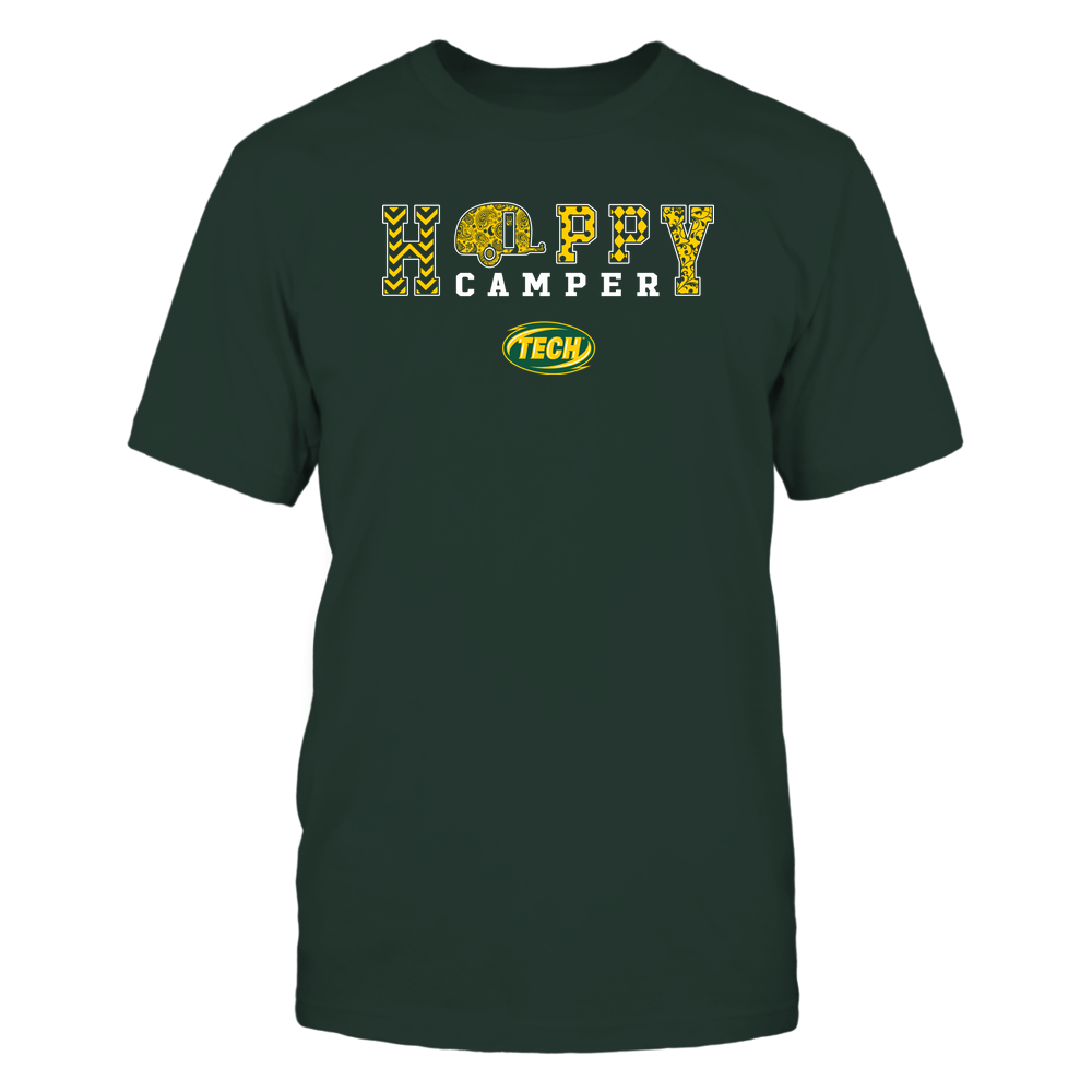 Arkansas Tech Golden Suns - Camping - Happy Camper Patterned Front picture