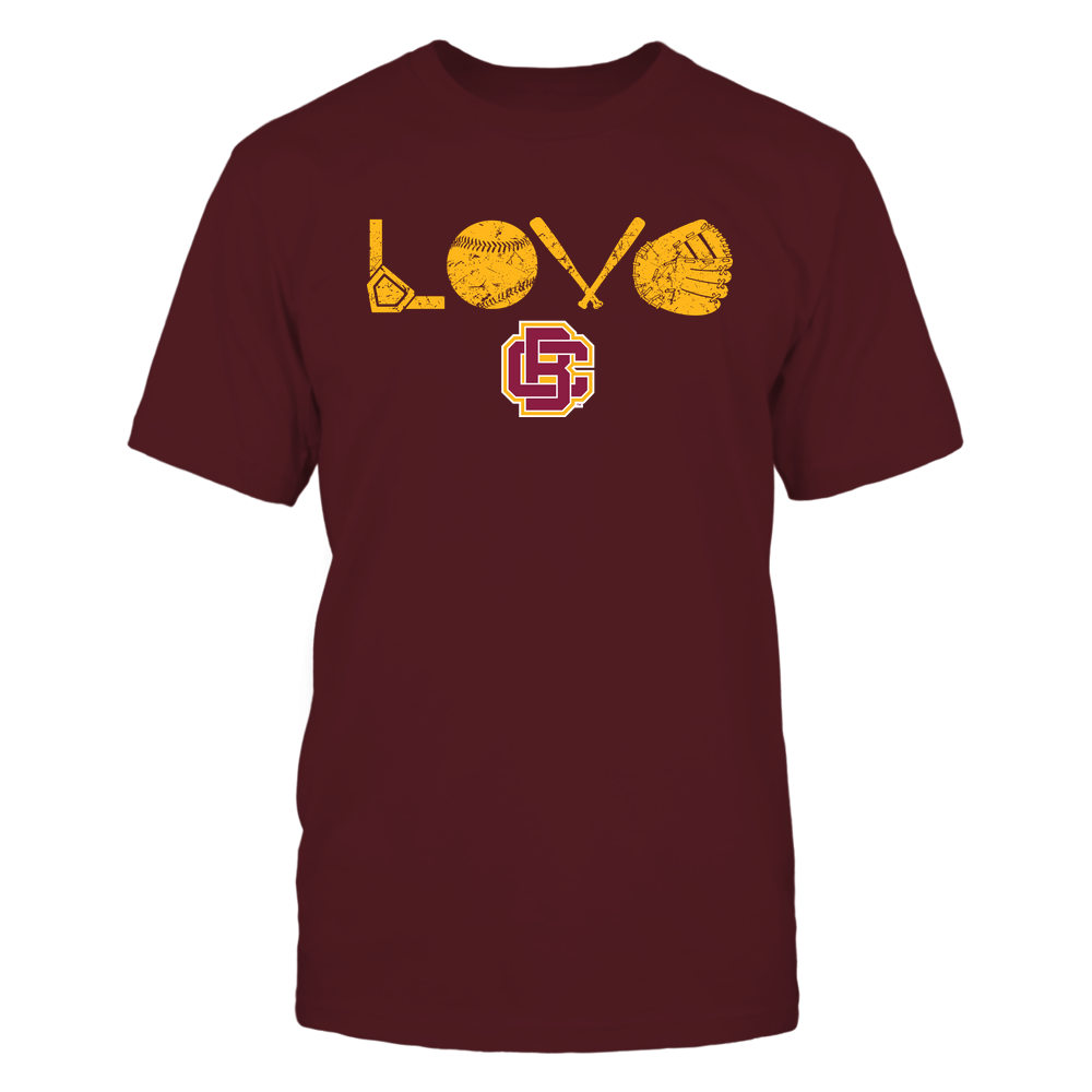 Bethune-Cookman Wildcats - Love - Baseball Things Front picture