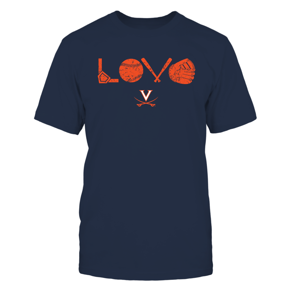 Virginia Cavaliers - Love - Baseball Things Front picture