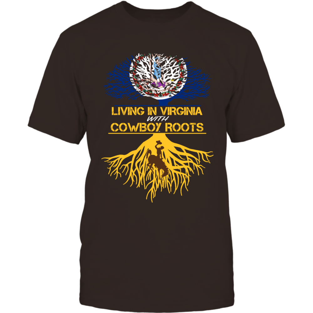 Wyoming Cowboys - Living Roots Virginia Front picture