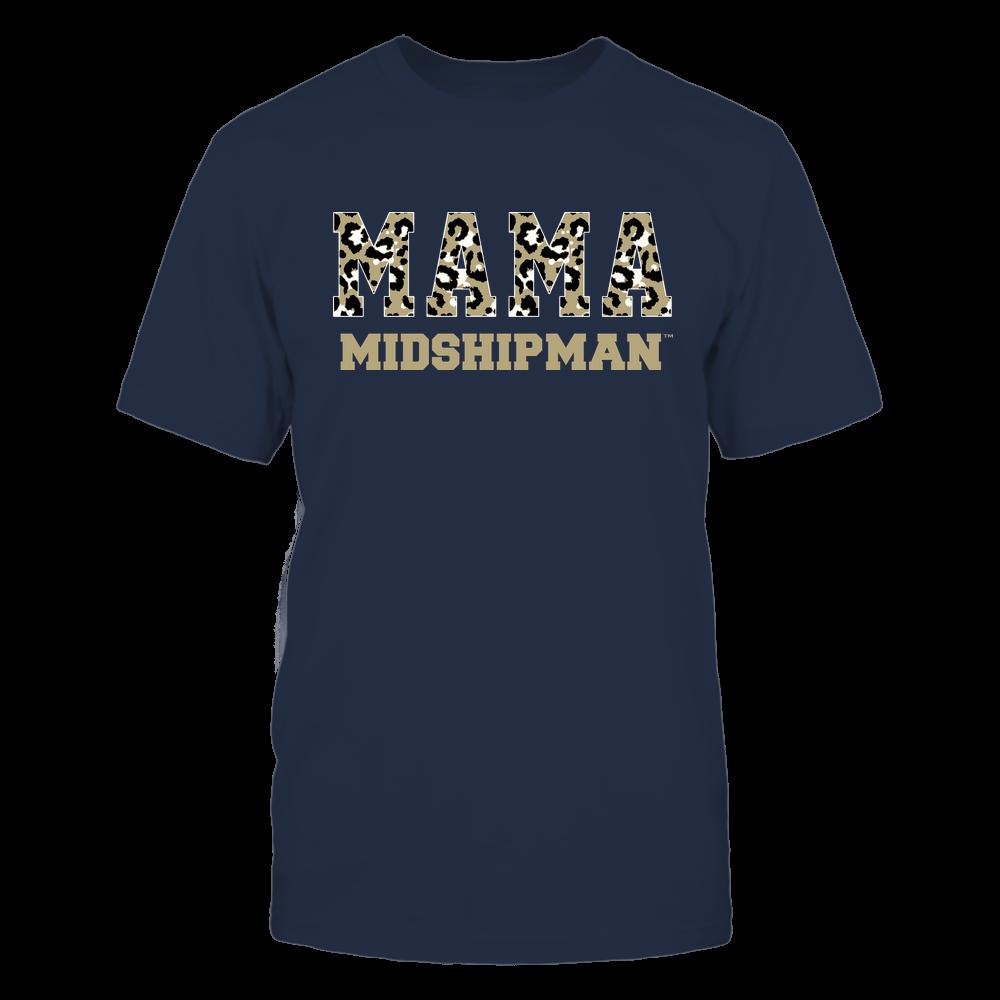 Navy Midshipmen - Mama - Mascot - Slogan Pattern Front picture
