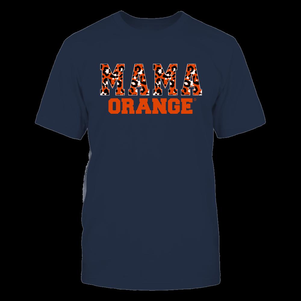 Syracuse Orange - Mama - Mascot - Slogan Pattern Front picture