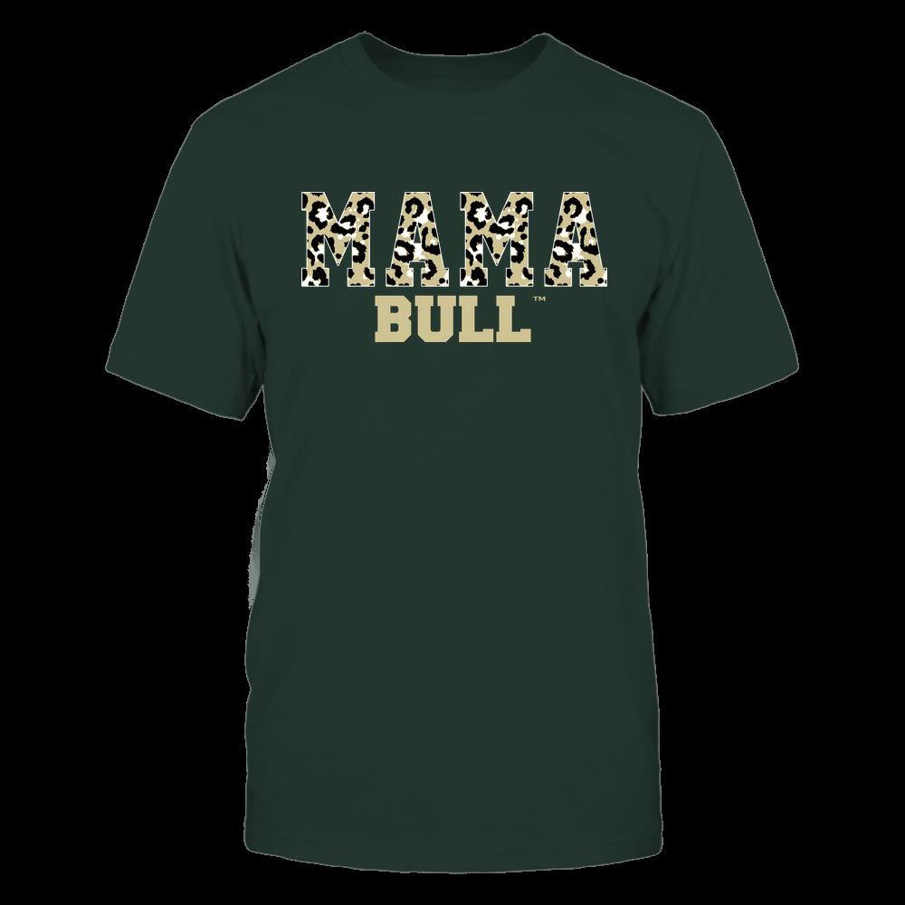 South Florida Bulls - Mama - Mascot - Slogan Pattern Front picture