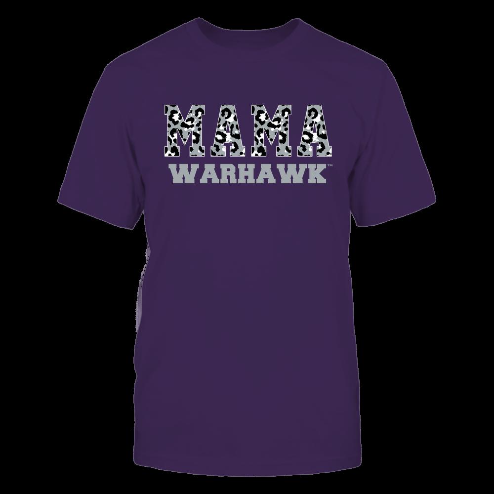 Wisconsin-Whitewater Warhawks - Mama - Mascot - Slogan Pattern Front picture