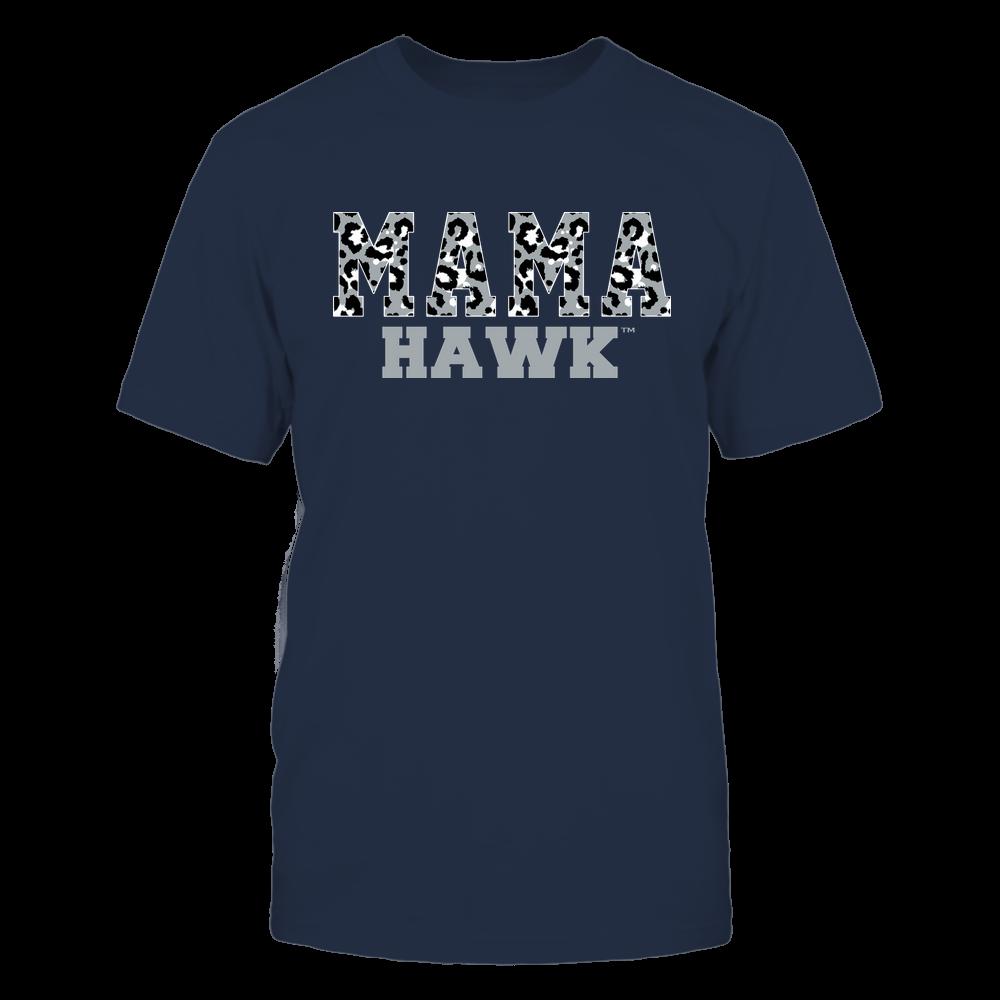 Monmouth Hawks - Mama - Mascot - Slogan Pattern Front picture
