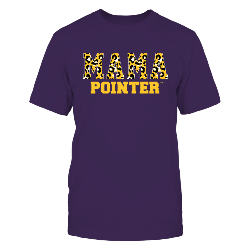 Wisconsin-Stevens Point Pointers - Mama - Mascot - Slogan Pattern Front picture