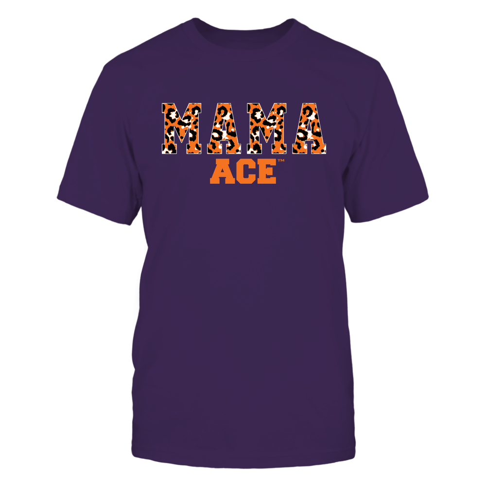 Evansville Purple Aces - Mama - Mascot - Slogan Pattern Front picture