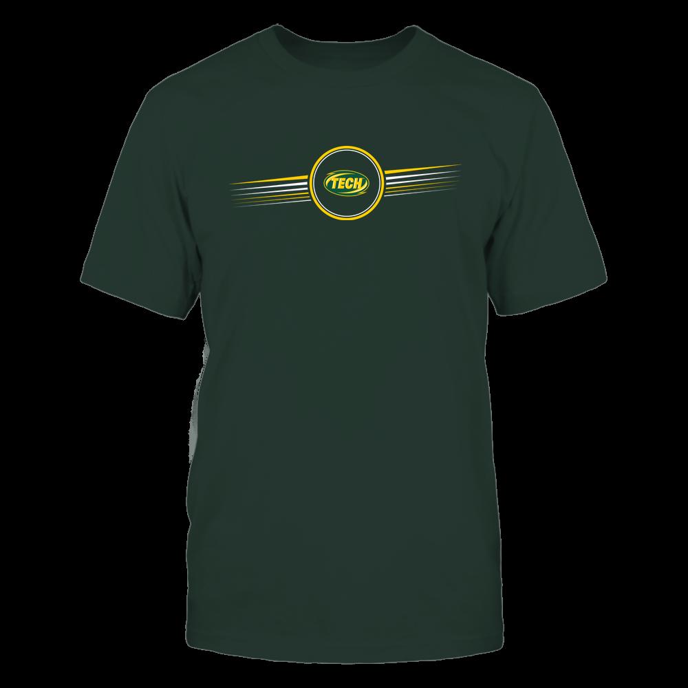 Arkansas Tech Golden Suns - Horizontal Stripes - Logo Front picture