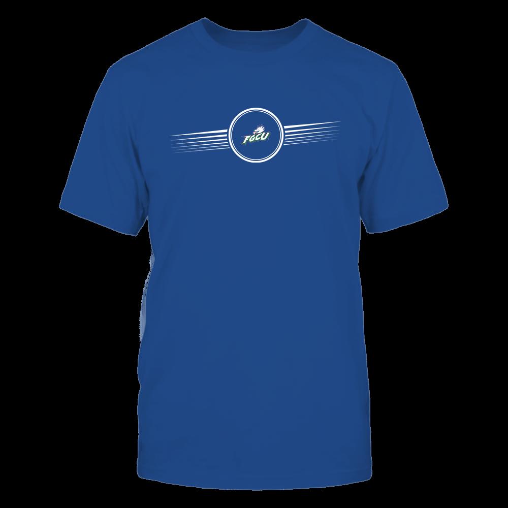 Florida Gulf Coast Eagles - Horizontal Stripes - Logo Front picture