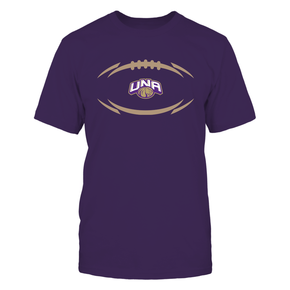 North Alabama Lions - Modern Football 2 - Logo Front picture