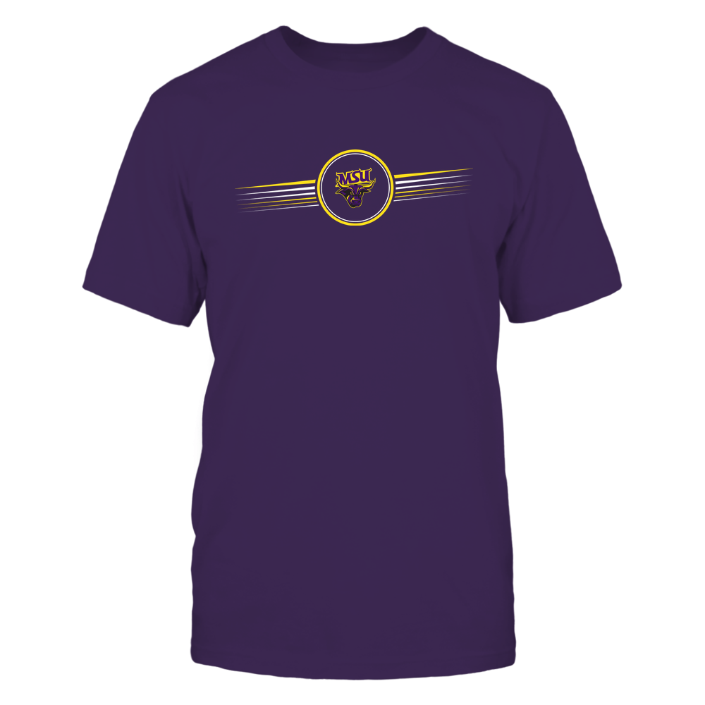 Minnesota State Mavericks - Horizontal Stripes - Logo Front picture