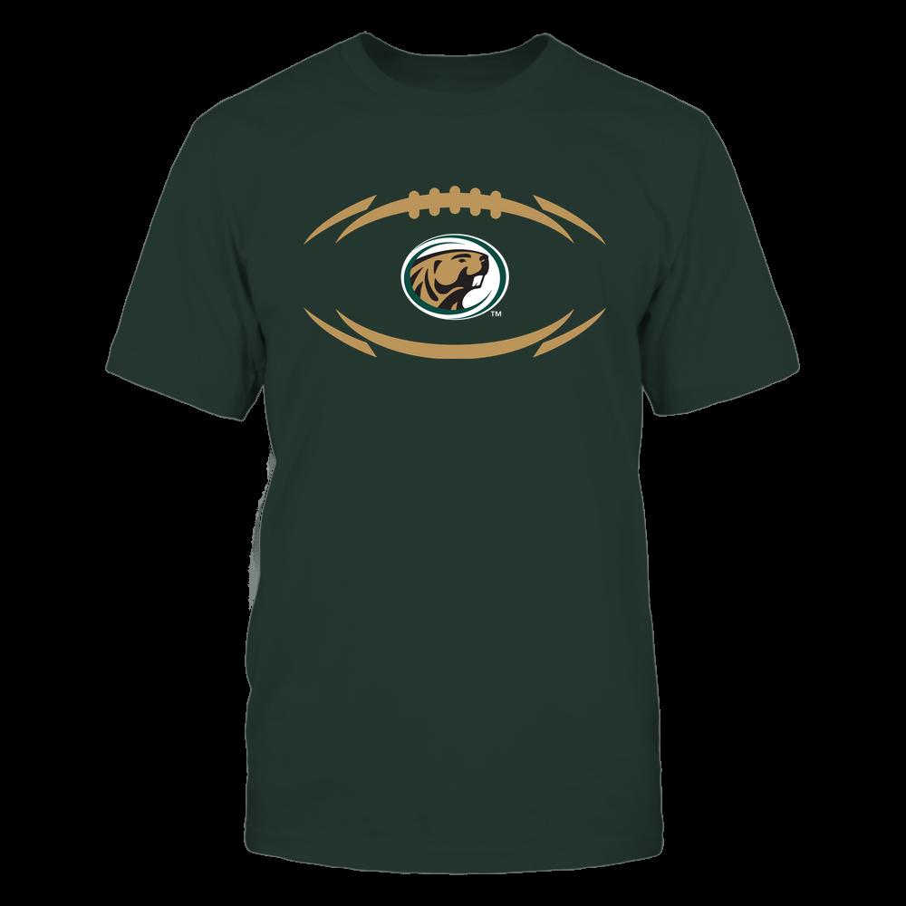 Bemidji State Beavers - Modern Football 2 - Logo Front picture