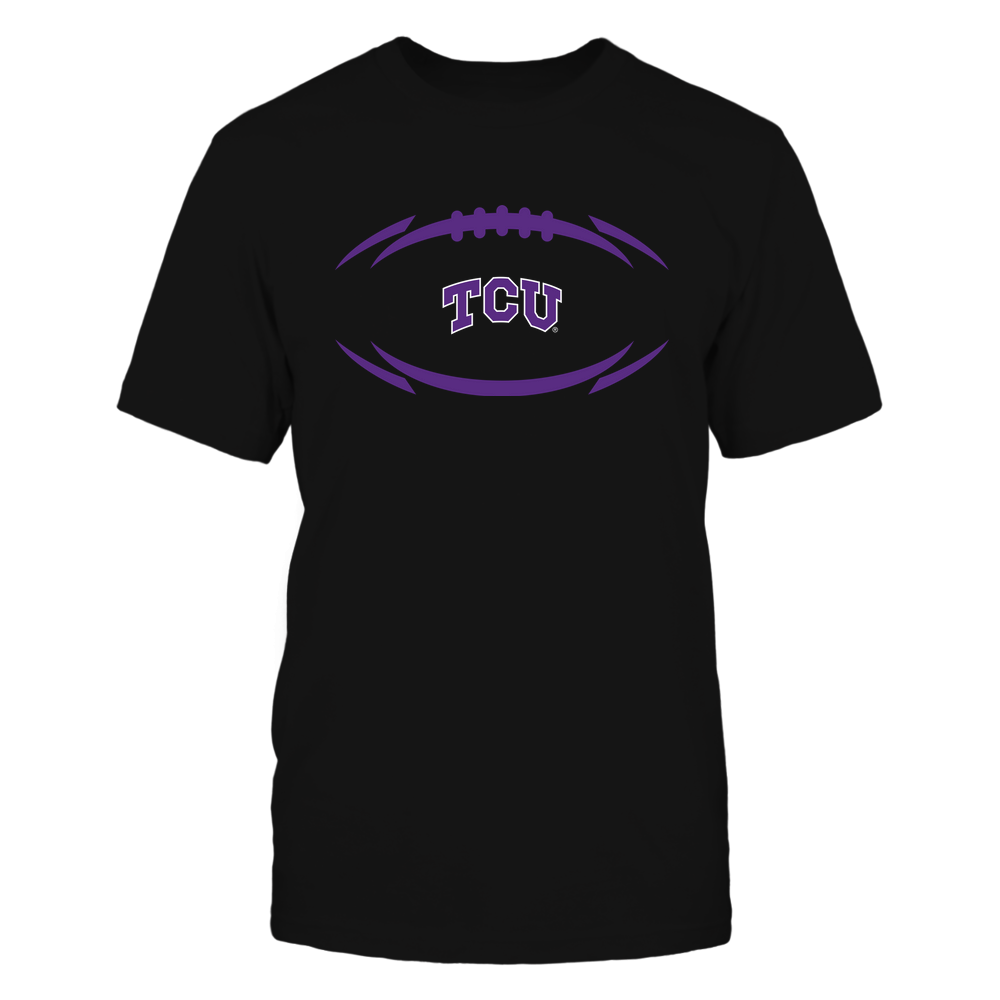 TCU Horned Frogs - Modern Football 2 - Logo Front picture