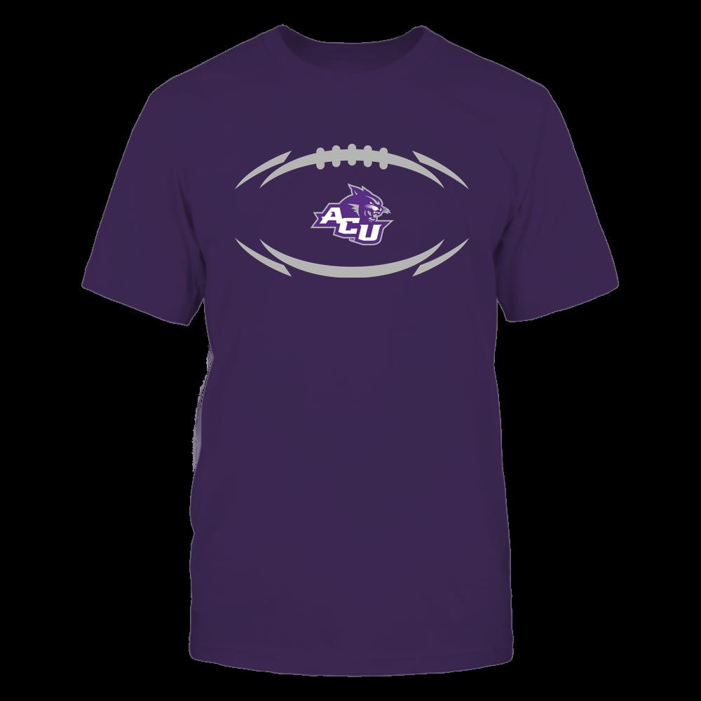 Abilene Christian Wildcats - Modern Football 2 - Logo Front picture