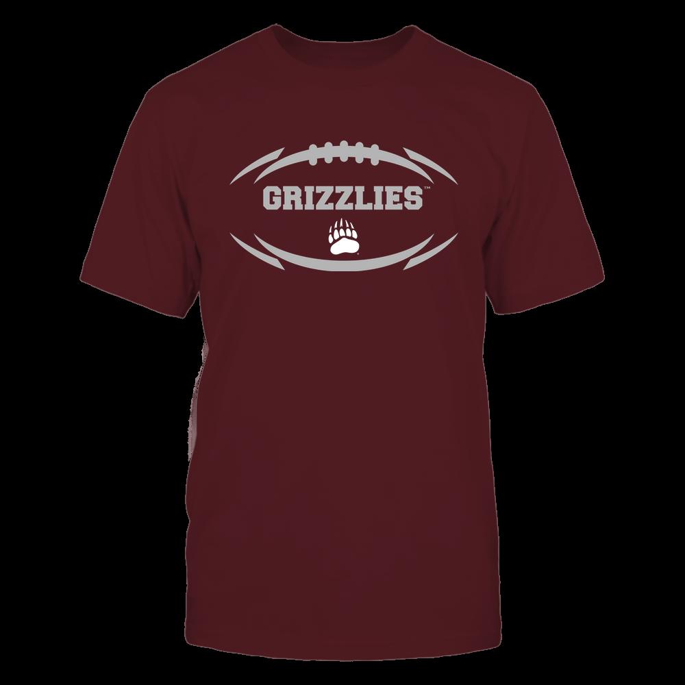 Montana Grizzlies - Modern Football 2 - Mascot - Logo Front picture