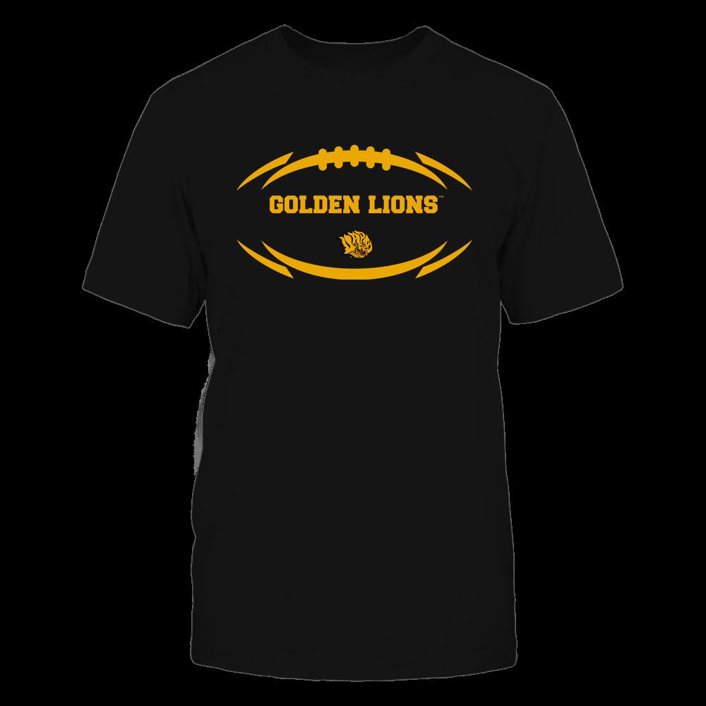 Arkansas Pine Bluff Golden Lions - Modern Football 2 - Mascot - Logo Front picture