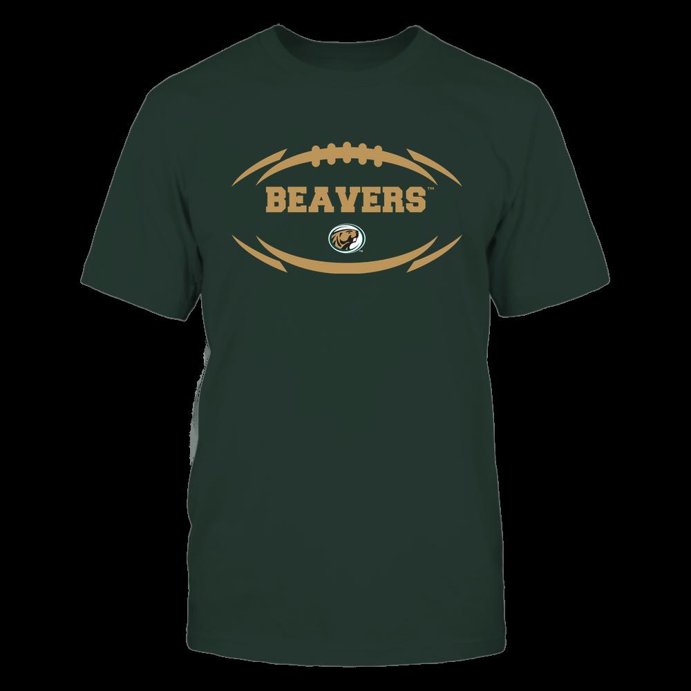 Bemidji State Beavers - Modern Football 2 - Mascot - Logo Front picture