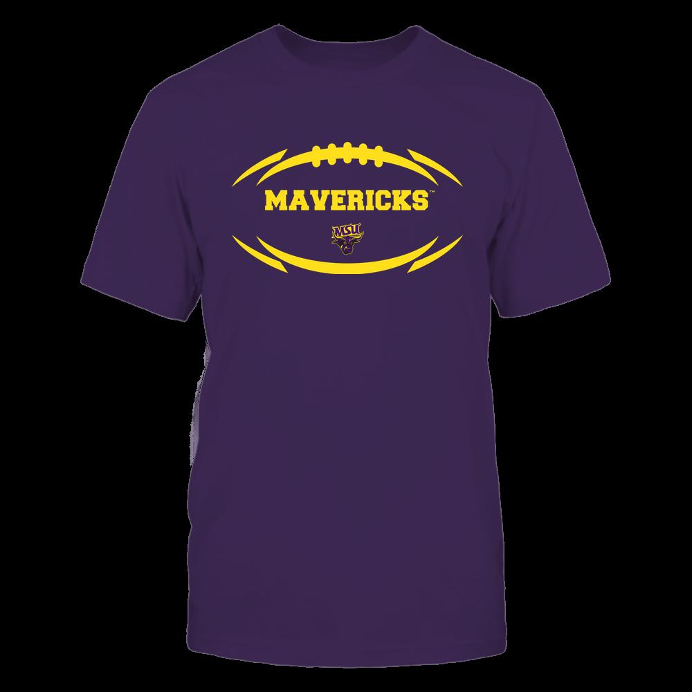 Minnesota State Mavericks - Modern Football 2 - Mascot - Logo Front picture