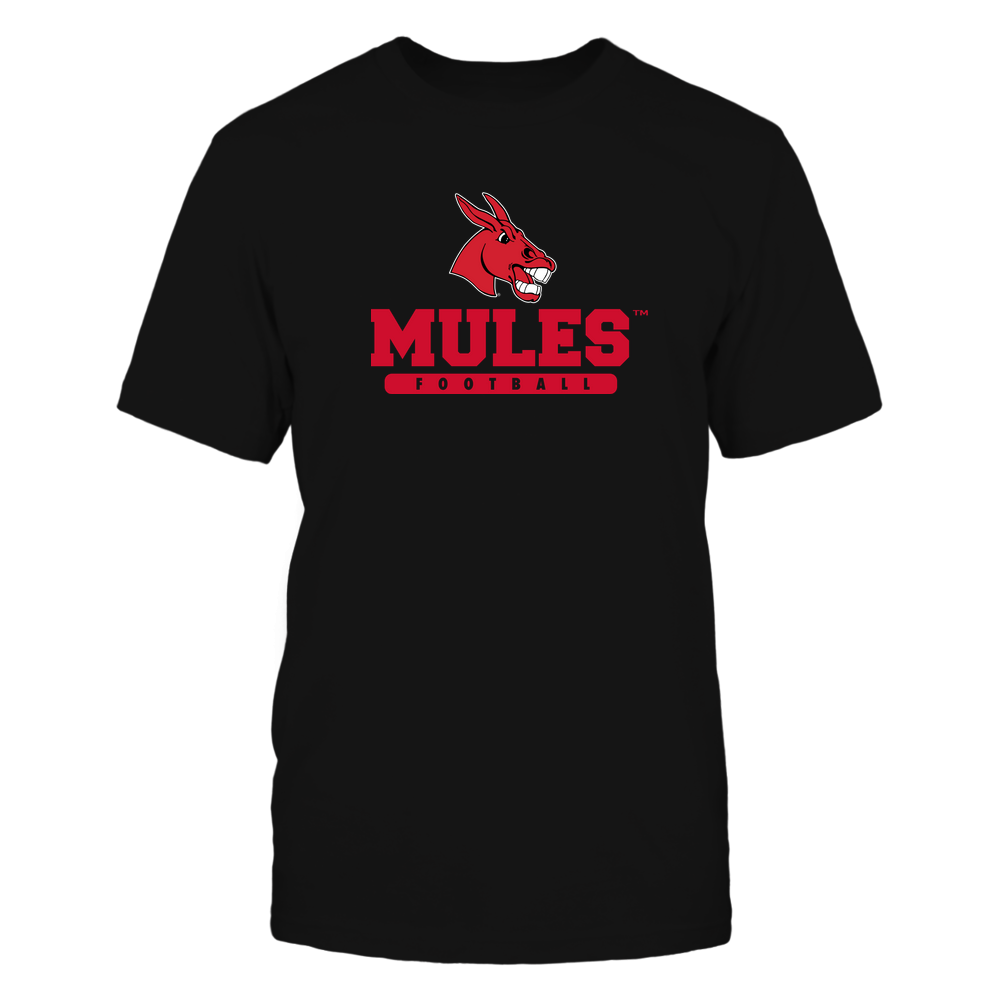 Central Missouri Mules - Mascot - Logo - Football Front picture