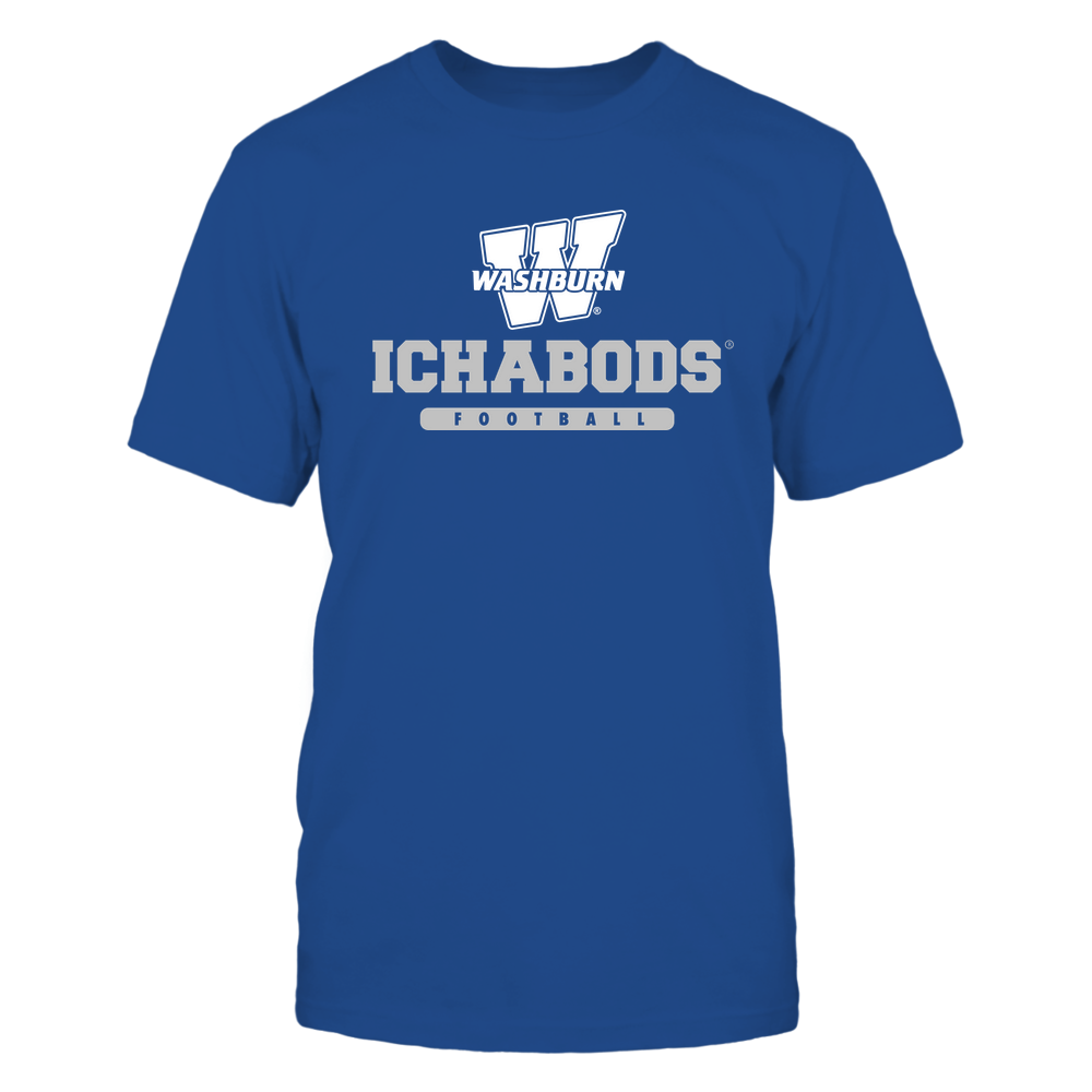 Washburn Ichabods - Mascot - Logo - Football Front picture