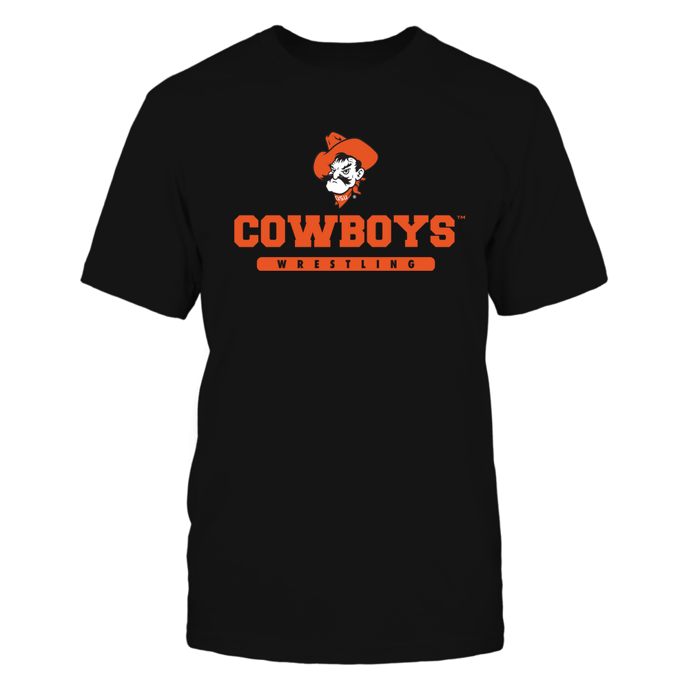 Oklahoma State Cowboys - Mascot - Logo - Wrestling Front picture