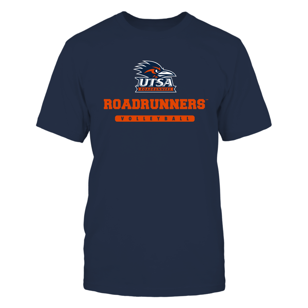 UTSA Roadrunners - Mascot - Logo - Volleyball Front picture