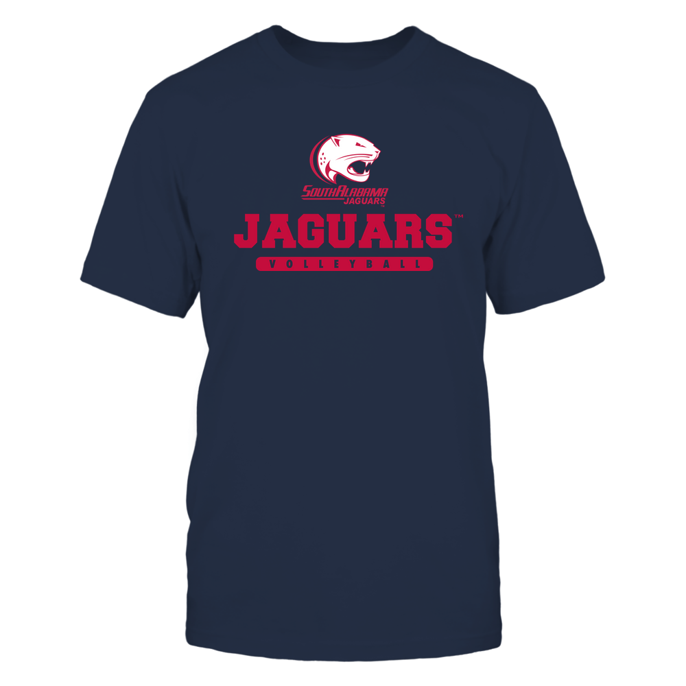 South Alabama Jaguars - Mascot - Logo - Volleyball Front picture
