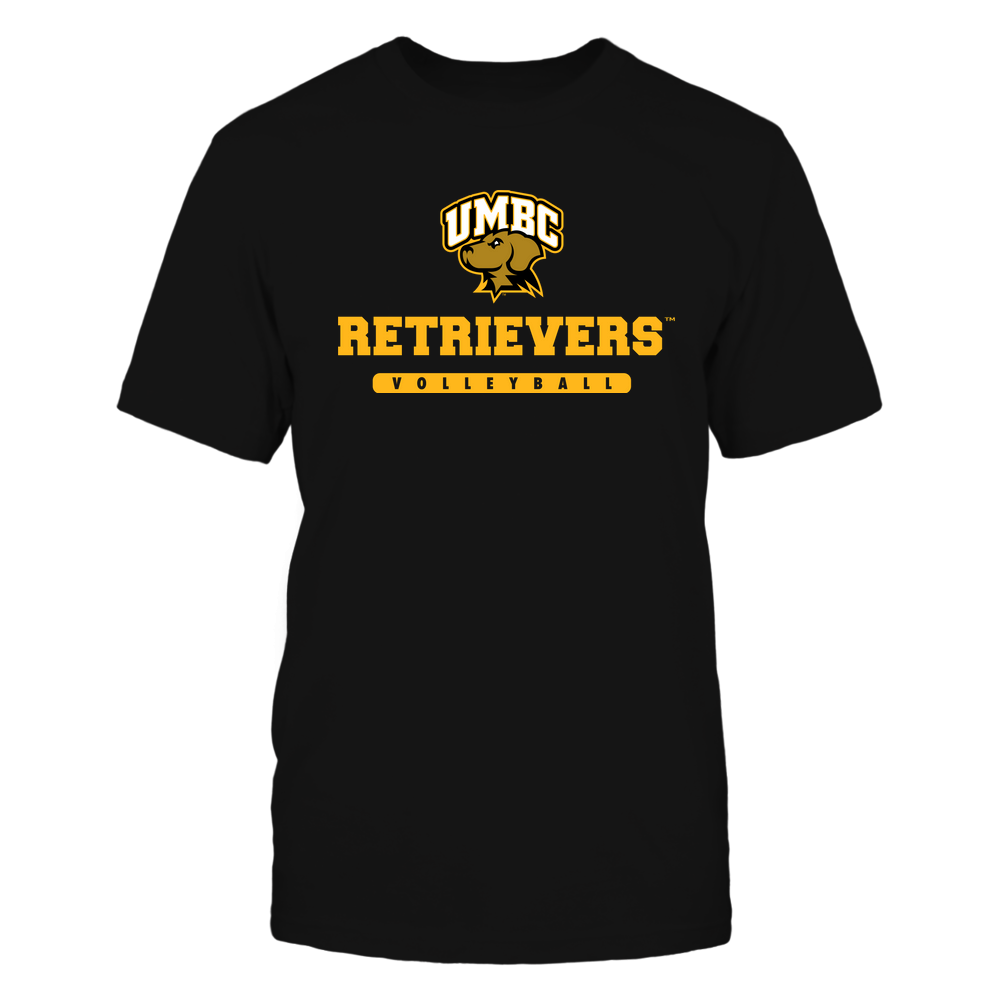 UMBC Retrievers - Mascot - Logo - Volleyball Front picture