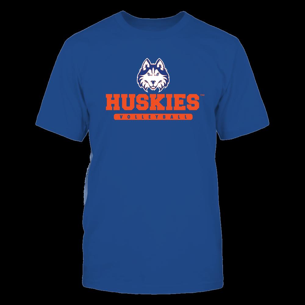 Houston Baptist Huskies - Mascot - Logo - Volleyball Front picture