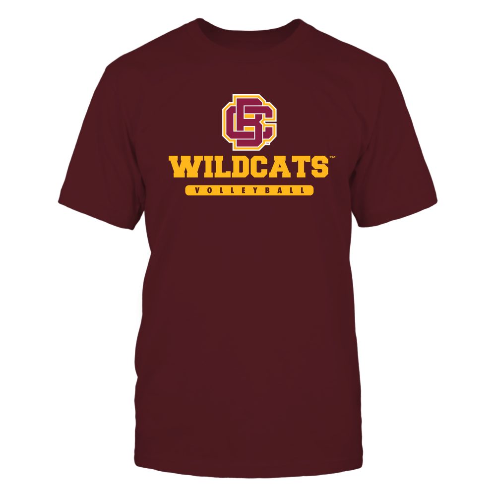 Bethune-Cookman Wildcats - Mascot - Logo - Volleyball Front picture