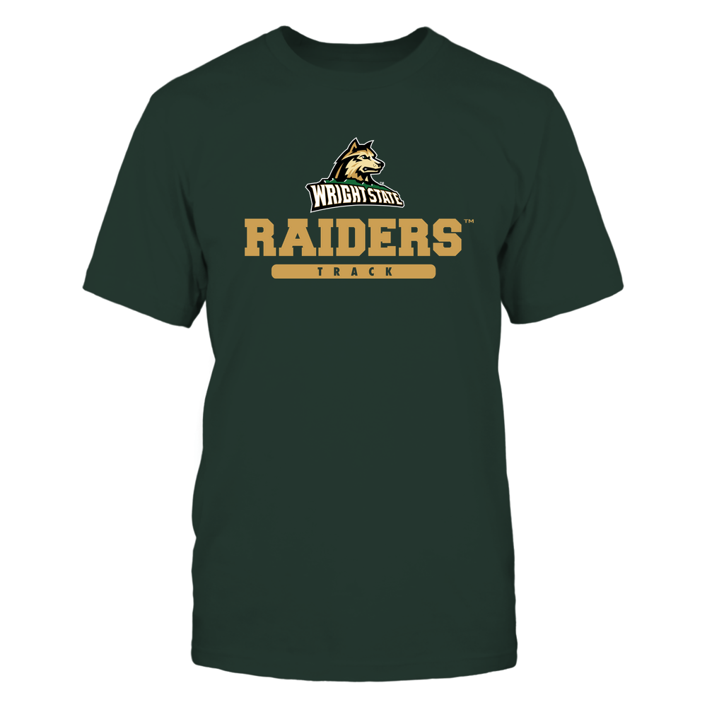 Wright State Raiders - Mascot - Logo - Track Front picture