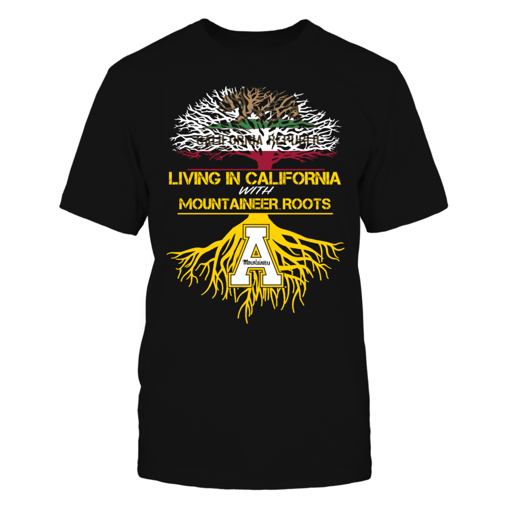 Appalachian State Mountaineers - Living Roots California Front picture