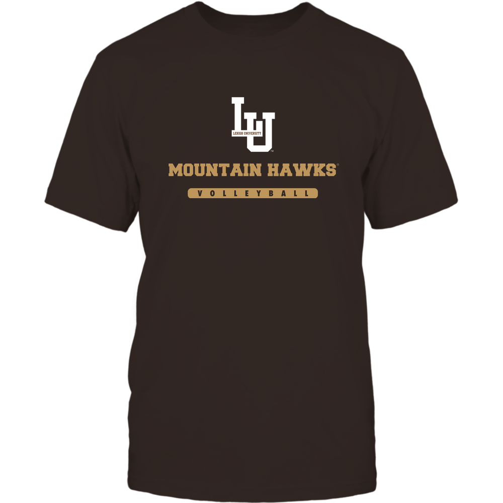 Lehigh Mountain Hawks - Mascot - Logo - Volleyball Front picture