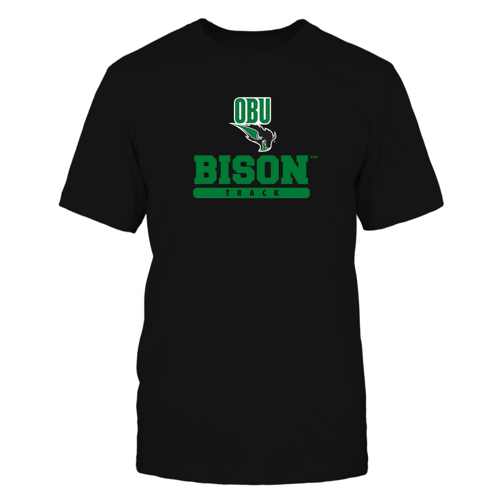 Oklahoma Baptist Bison - Mascot - Logo - Track Front picture