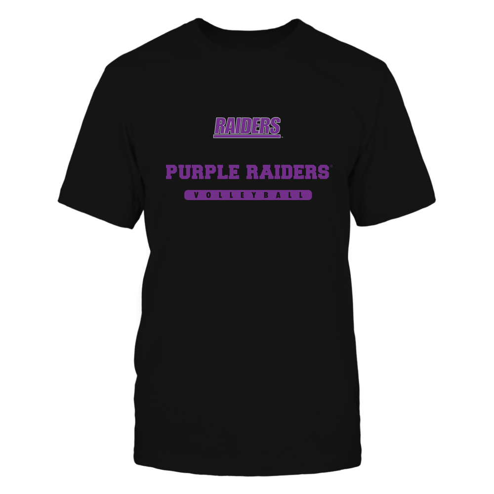 Mount Union Raiders - Mascot - Logo - Volleyball Front picture