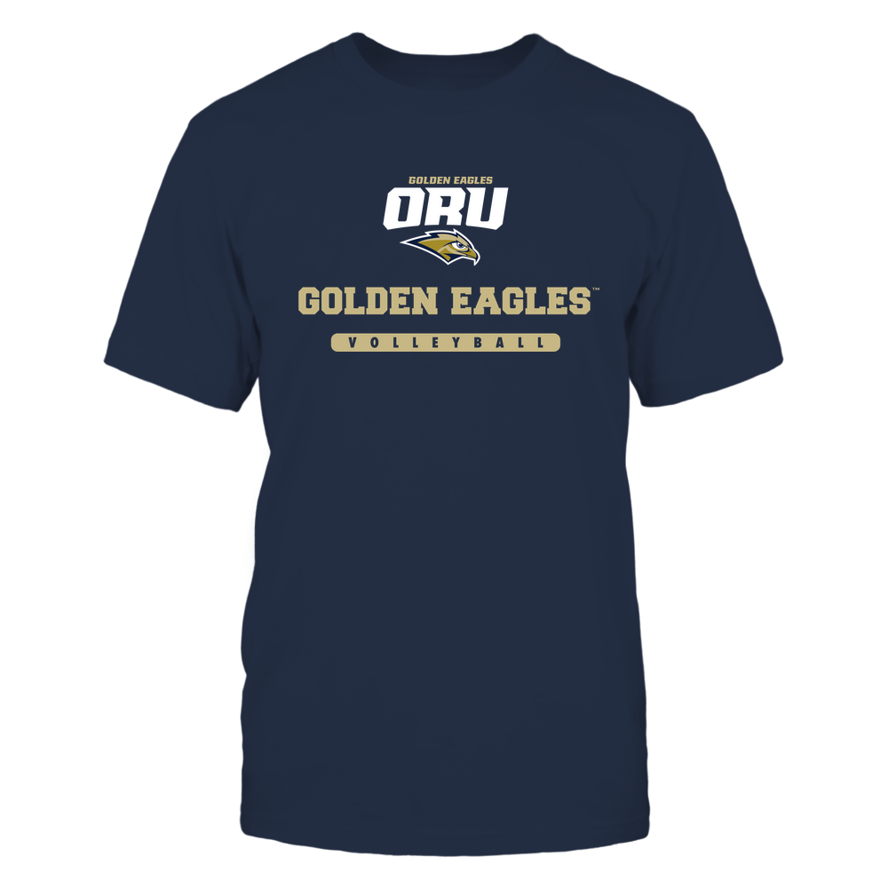Oral Roberts Golden Eagles - Mascot - Logo - Volleyball Front picture
