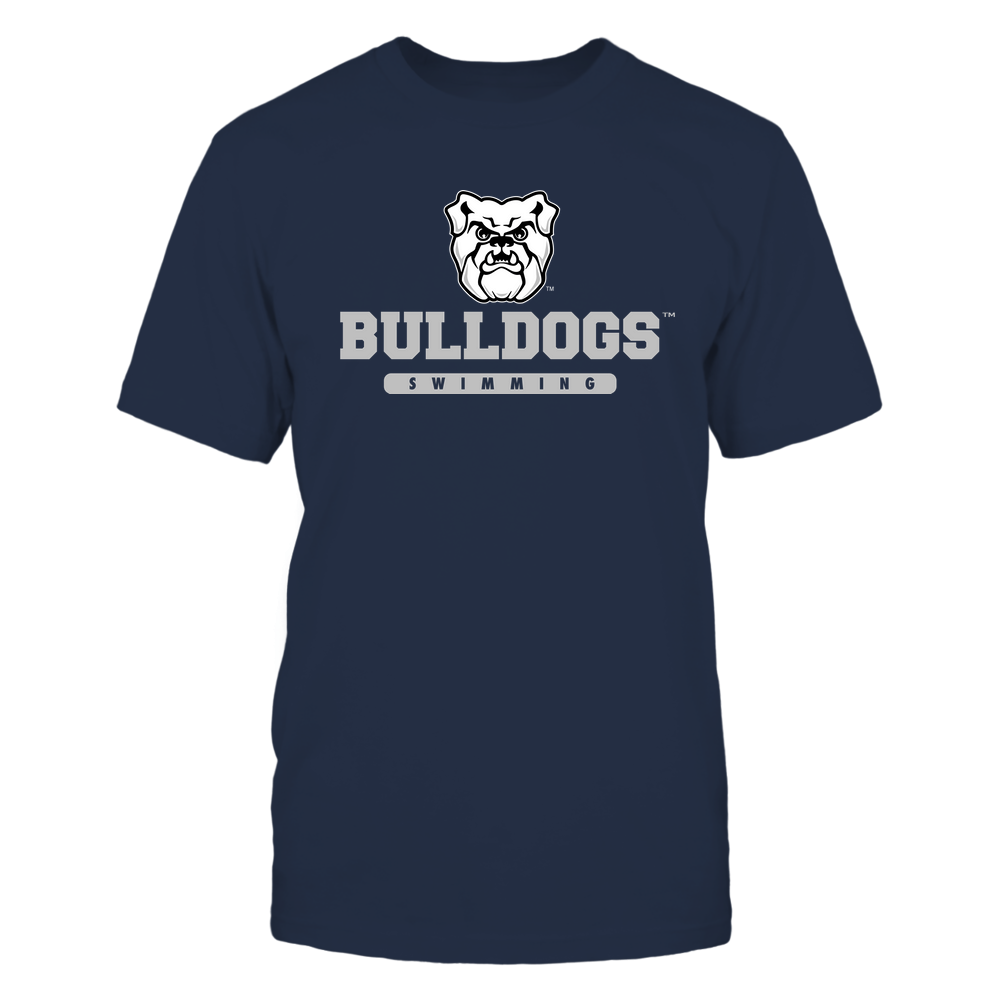 Butler Bulldogs - Mascot - Logo - Swimming Front picture