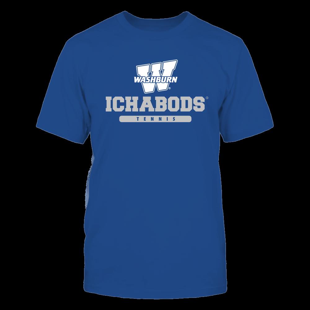 Washburn Ichabods - Mascot - Logo - Tennis Front picture