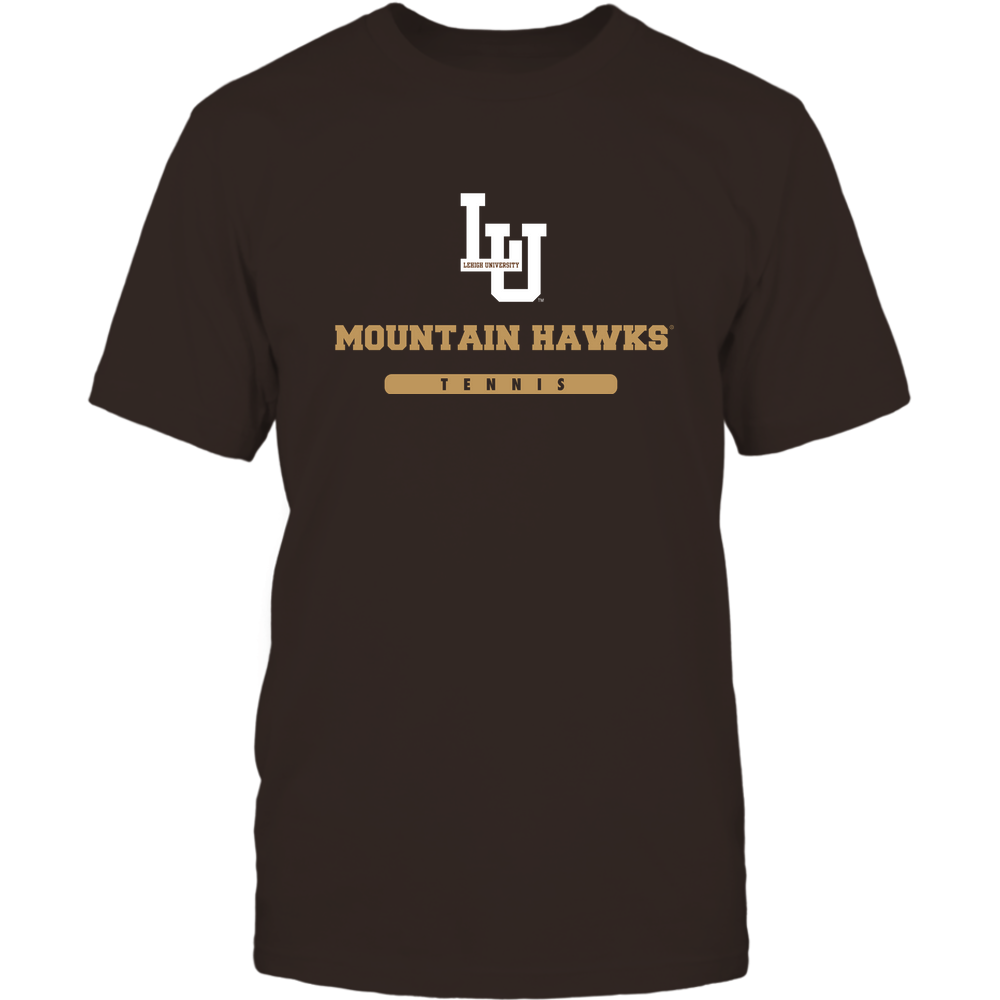 Lehigh Mountain Hawks - Mascot - Logo - Tennis Front picture