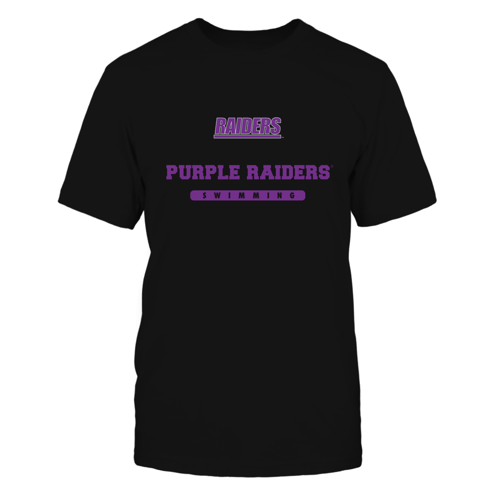 Mount Union Raiders - Mascot - Logo - Swimming Front picture