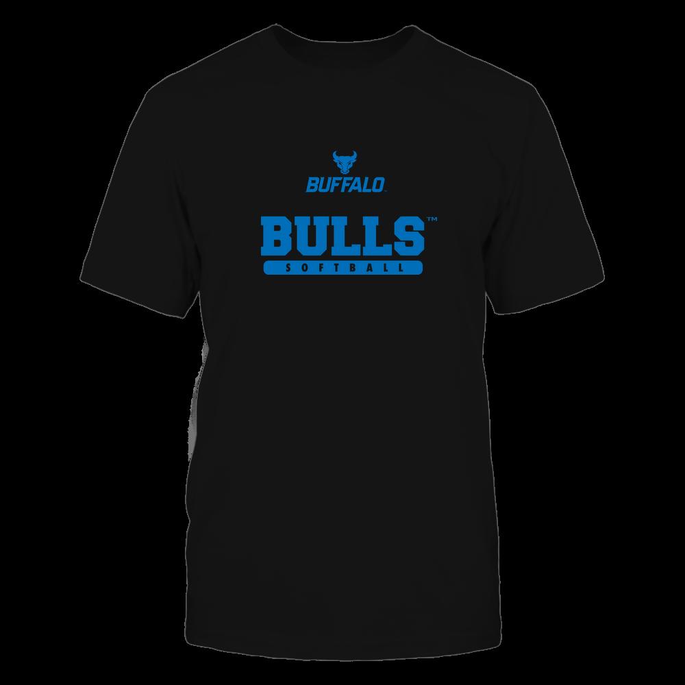 Buffalo Bulls - Mascot - Logo - Softball Front picture