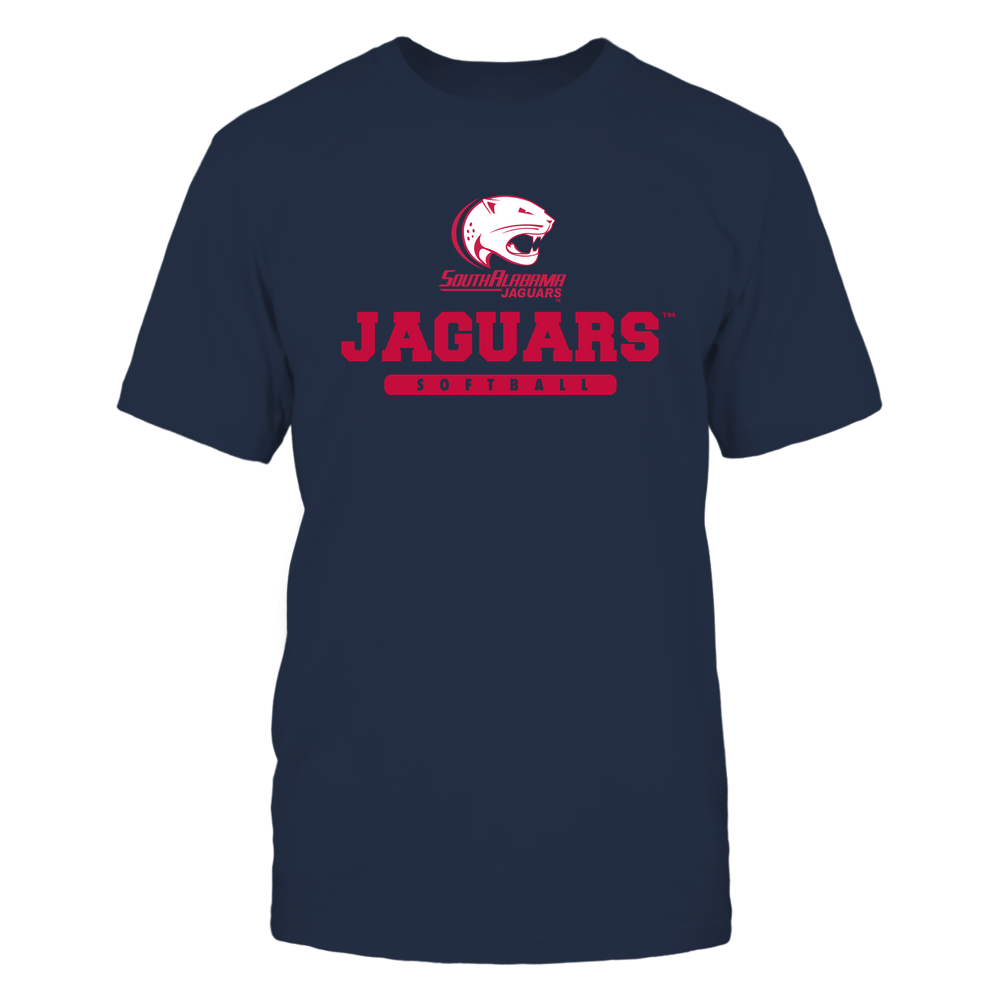 South Alabama Jaguars - Mascot - Logo - Softball Front picture